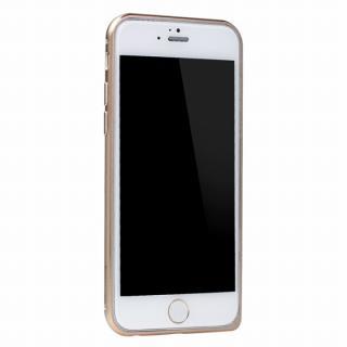 【iPhone6ケース】工具不要の超軽量7gアルミバンパー ibacks Essence ゴールド(ゴールドエッジ) iPhone 6バンパー_1