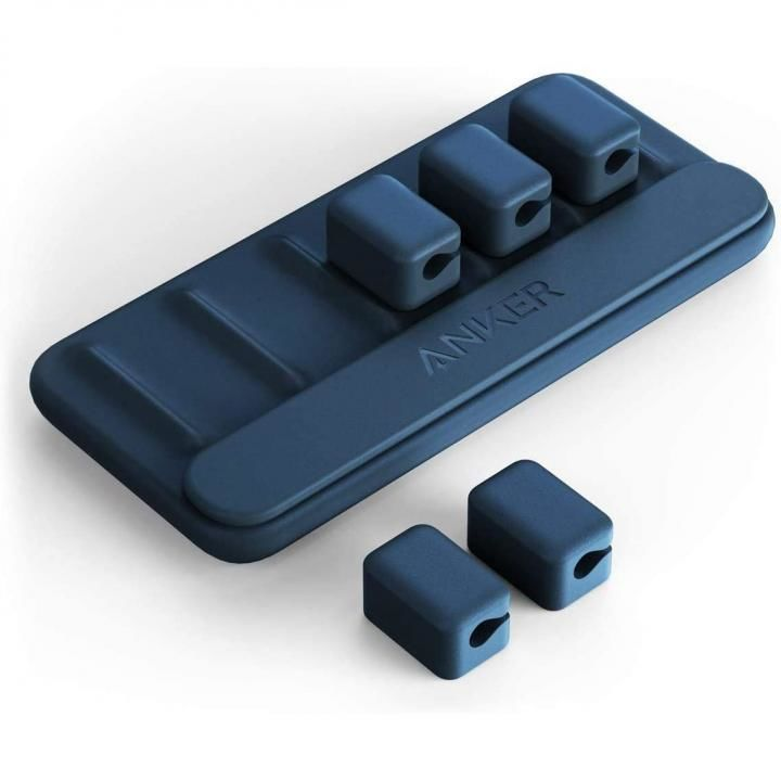 Anker Magnetic Cable Holder ブルー_0