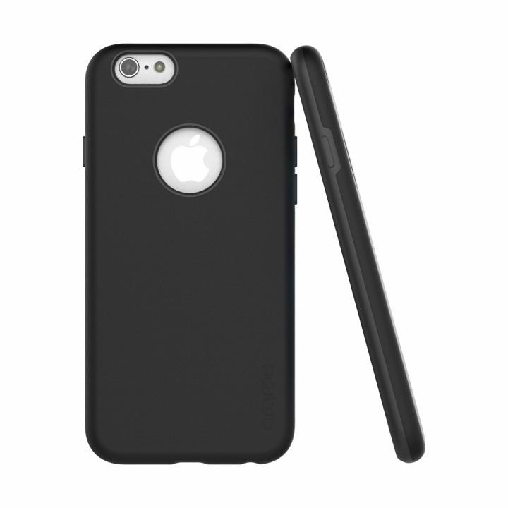 【iPhone6ケース】ツートンカラーケース araree AMY ブラック/ブラック iPhone 6ケース_0