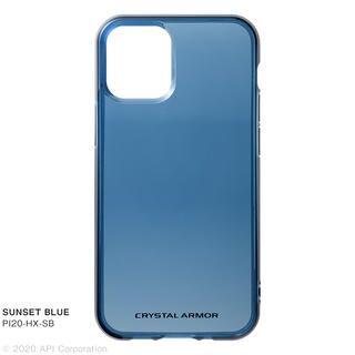 iPhone 12 mini (5.4インチ) ケース HEXAGON SUNSET BLUE iPhone 12 mini