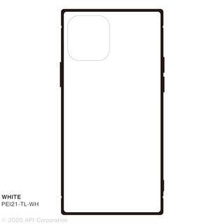 iPhone 12 / iPhone 12 Pro (6.1インチ) ケース TILE スクエア型iPhoneケース WHITE iPhone 12/iPhone 12 Pro