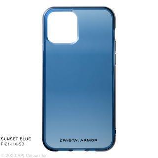 iPhone 12 / iPhone 12 Pro (6.1インチ) ケース HEXAGON SUNSET BLUE iPhone 12/iPhone 12 Pro