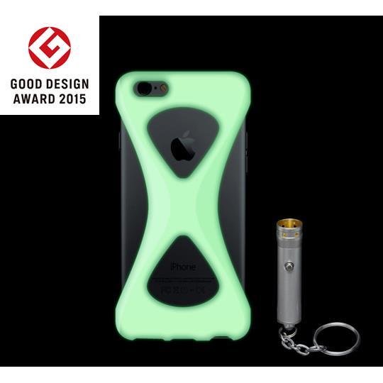 iPhone6s/6 ケース Palmo GiD 落下防止シリコンケース 蓄光 iPhone 6s/6_0