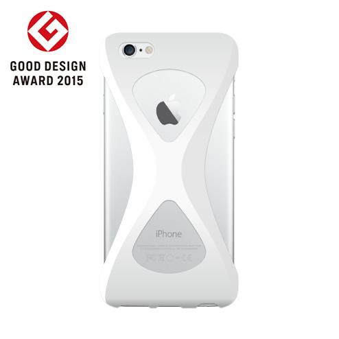 iPhone6s/6 ケース Palmo 落下防止シリコンケース ホワイト iPhone 6s/6_0