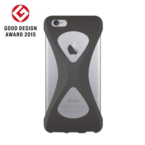 iPhone6s/6 ケース Palmo 落下防止シリコンケース ブラック iPhone 6s/6_0