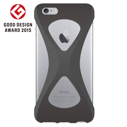 iPhone6s Plus/6 Plus ケース Palmo 落下防止シリコンケース ブラック iPhone 6s Plus/6 Plus_0