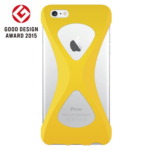 iPhone6s Plus/6 Plus ケース Palmo 落下防止シリコンケース イエロー iPhone 6s Plus/6 Plus_0