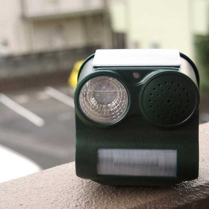 防鳥防獣ソーラーパネル警報機