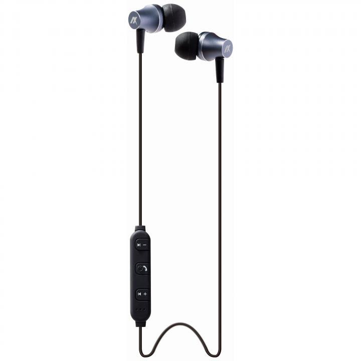 B-REVOL Bluetoothイヤホン シルバーグレー_0