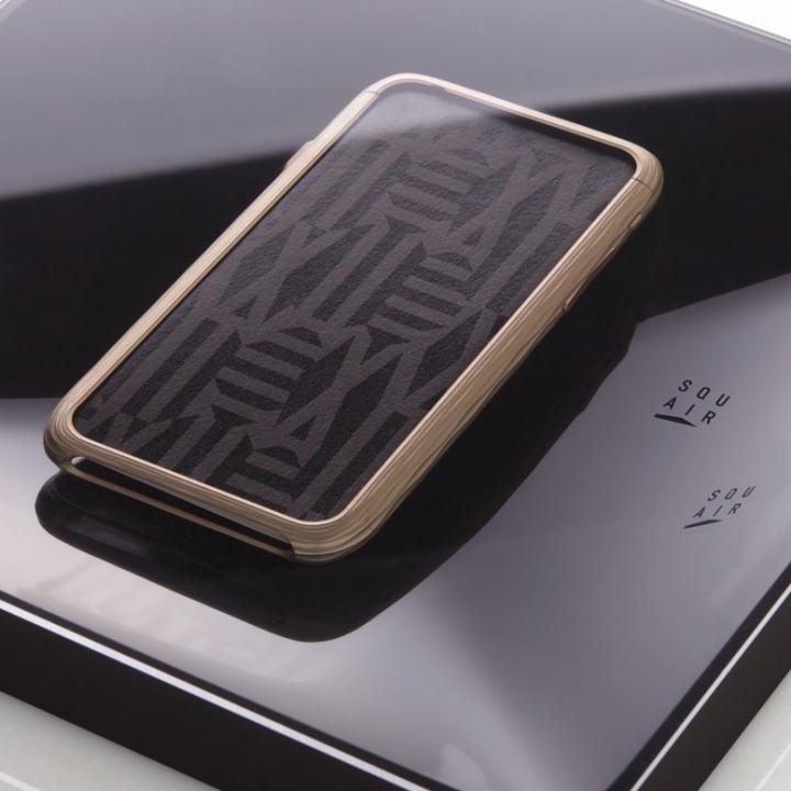超々ジュラルミンA7075 SQUAIR The Dimple ゴールド iPhone 6