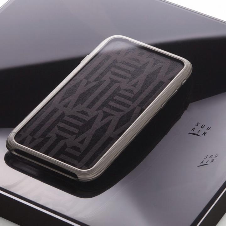 iPhone6 ケース 超々ジュラルミンA7075 SQUAIR The Dimple シルバー iPhone 6_0