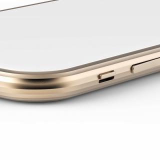 【iPhone6ケース】超々ジュラルミンA2017 15gネジなしバンパー SQUAIR The Edge ゴールド iPhone 6バンパー_2