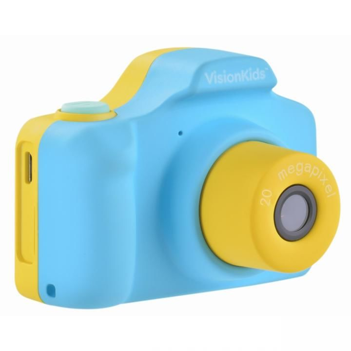 VisionKids HappiCAMU+ デジタルカメラ ブルー【1月下旬】_0