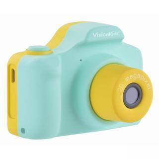 VisionKids HappiCAMU+ デジタルカメラ グリーン【11月上旬】