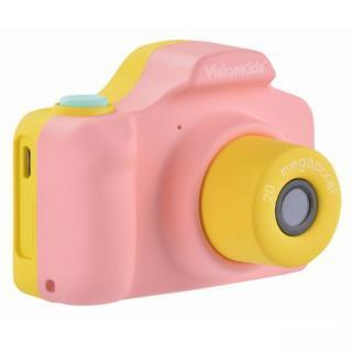 VisionKids HappiCAMU+ デジタルカメラ ピンク【1月下旬】
