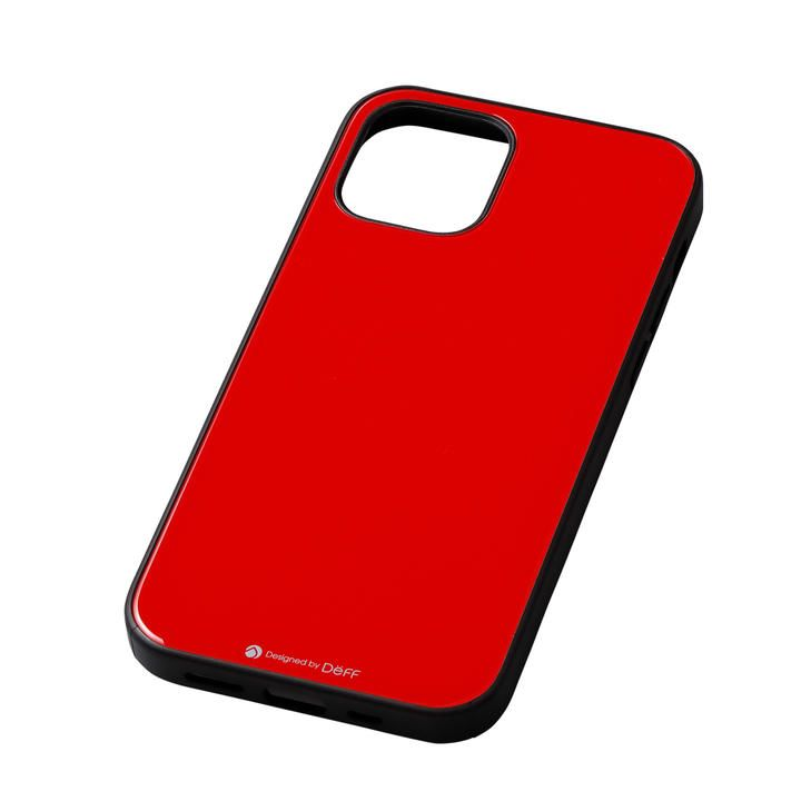 Deff Hybrid Case Etanze レッド iPhone 12/iPhone 12 Pro_0