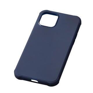 iPhone 12 mini (5.4インチ) ケース CRYTONE TESiV Clean Case ネイビー iPhone 12 mini