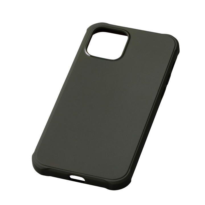 CRYTONE TESiV Clean Case ダークオリーブ iPhone 12 Pro Max_0