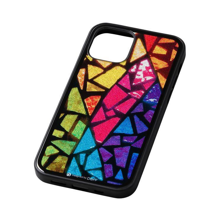 Deff Hybrid Case Etanze ステンドグラス iPhone 12 mini_0