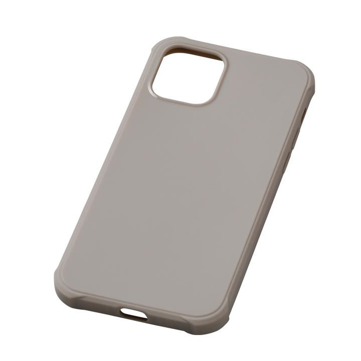 CRYTONE TESiV Clean Case グレージュ iPhone 12 mini_0