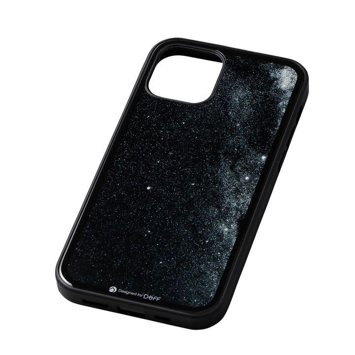 Deff Hybrid Case Etanze 星空ブラック iPhone 12/iPhone 12 Pro_0