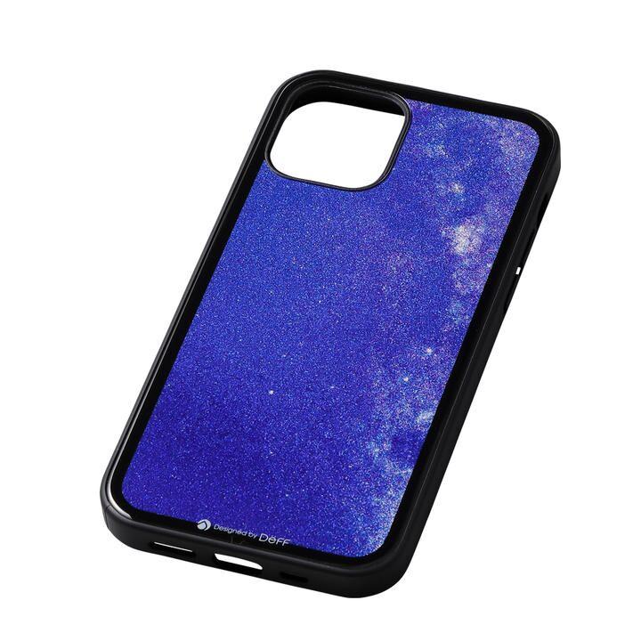 Deff Hybrid Case Etanze 星空ブルー iPhone 12 mini_0