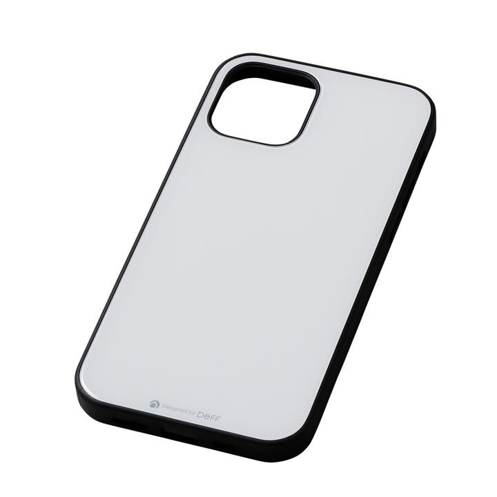 Deff Hybrid Case Etanze ホワイト iPhone 12 mini_0