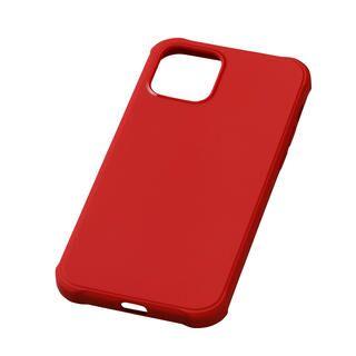 iPhone 12 / iPhone 12 Pro (6.1インチ) ケース CRYTONE TESiV Clean Case レッド iPhone 12/iPhone 12 Pro
