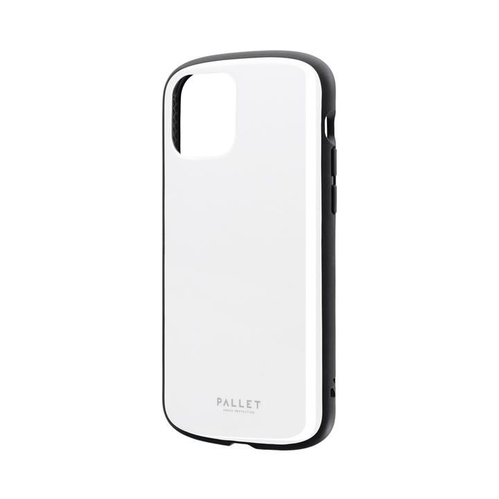 超軽量・極薄・耐衝撃ハイブリッドケース「PALLET AIR」 ホワイト iPhone 12/iPhone 12 Pro_0