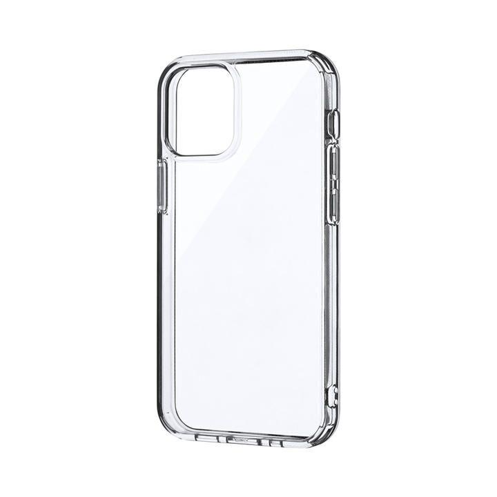 耐傷・耐衝撃ハイブリッドケース「CLEAR Tough」 クリア iPhone 12 mini_0