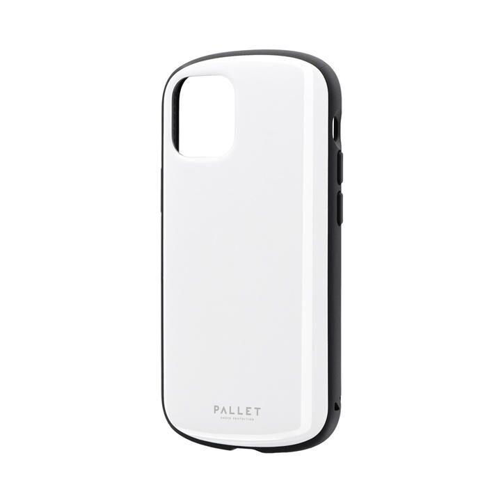 超軽量・極薄・耐衝撃ハイブリッドケース「PALLET AIR」 ホワイト iPhone 12 mini_0