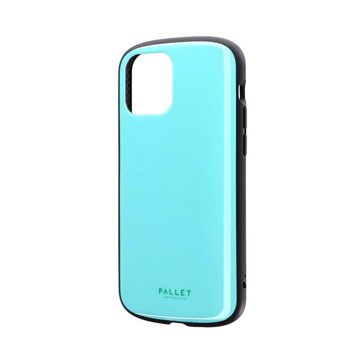 超軽量・極薄・耐衝撃ハイブリッドケース「PALLET AIR」 ミントブルー iPhone 12/iPhone 12 Pro_0