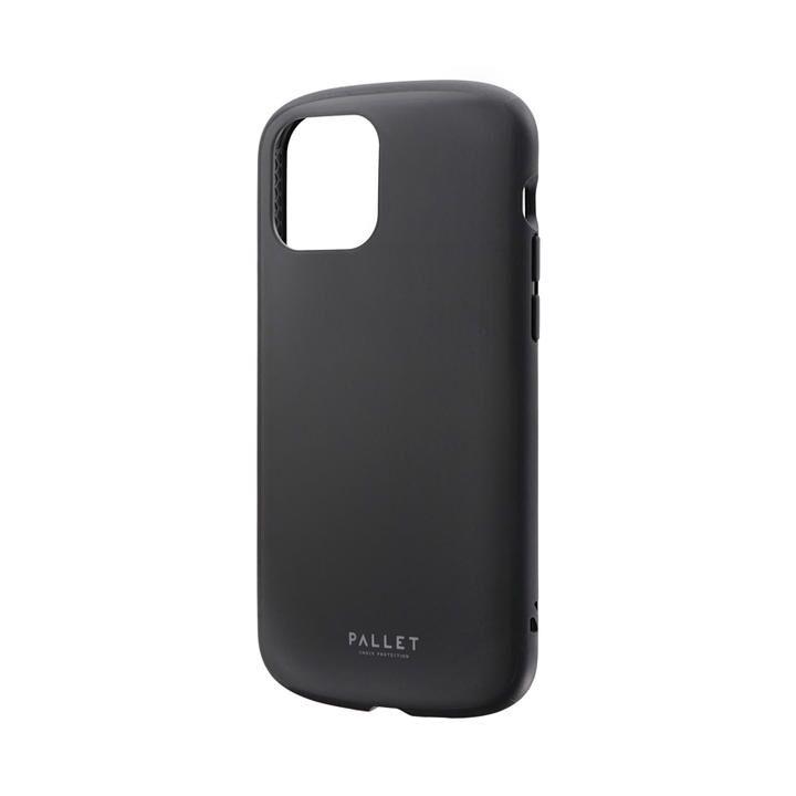 超軽量・極薄・耐衝撃ハイブリッドケース「PALLET AIR」 マットブラック iPhone 12/iPhone 12 Pro_0