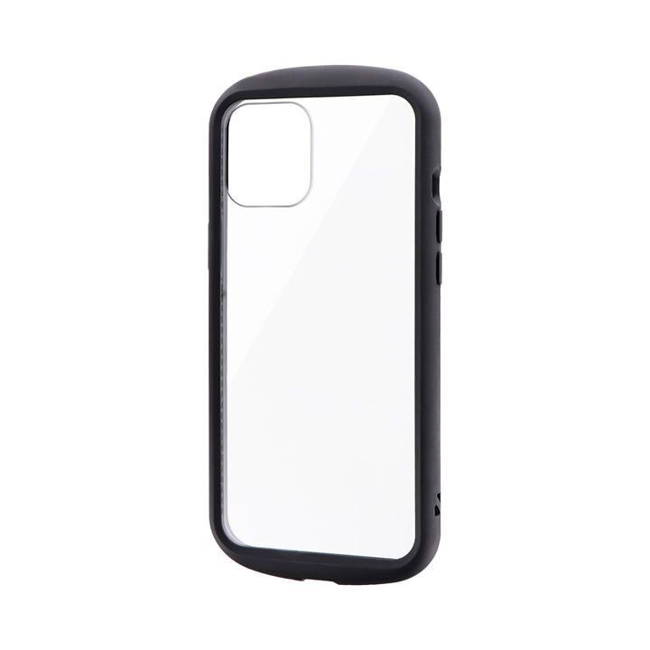 耐衝撃ハイブリッドケース「PALLET CLEAR Flat」 ブラック iPhone 12 Pro Max_0