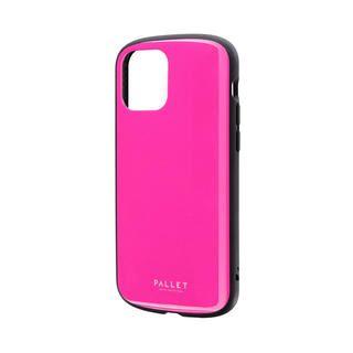 iPhone 12 / iPhone 12 Pro (6.1インチ) ケース 超軽量・極薄・耐衝撃ハイブリッドケース「PALLET AIR」 ホットピンク iPhone 12/iPhone 12 Pro
