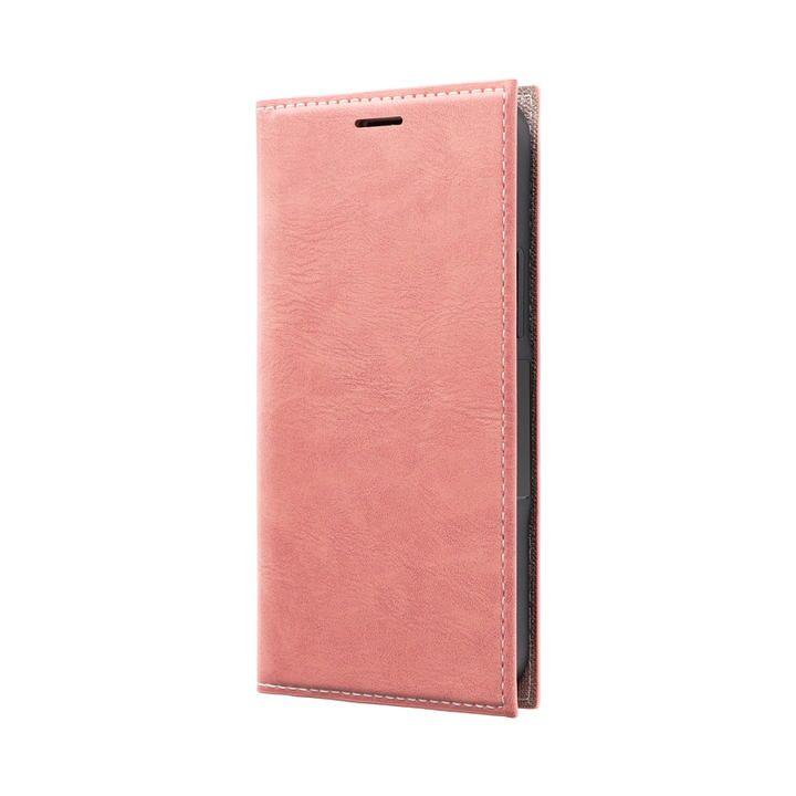 薄型PUレザーフラップケース「PRIME」 ピンク iPhone 12 mini_0