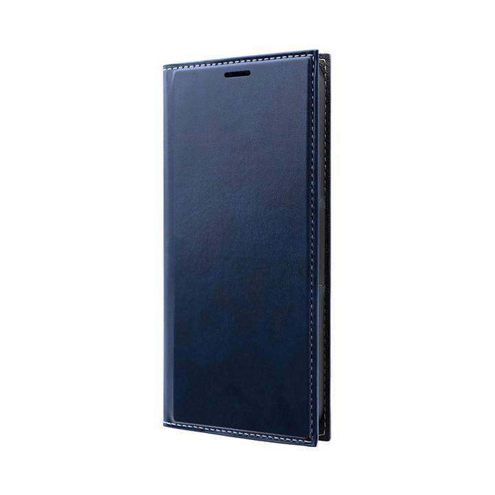 薄型PUレザーフラップケース「PRIME」 ネイビー iPhone 12/iPhone 12 Pro_0