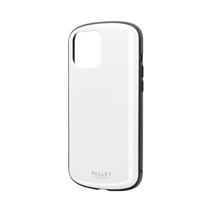 超軽量・極薄・耐衝撃ハイブリッドケース「PALLET AIR」 ホワイト iPhone 12 Pro Max_0