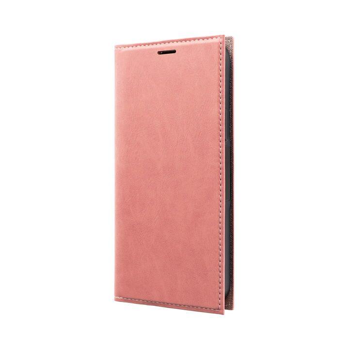 薄型PUレザーフラップケース「PRIME」 ピンク iPhone 12/iPhone 12 Pro_0