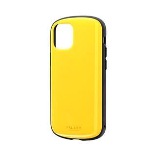 iPhone 12 mini (5.4インチ) ケース 超軽量・極薄・耐衝撃ハイブリッドケース「PALLET AIR」 イエロー iPhone 12 mini