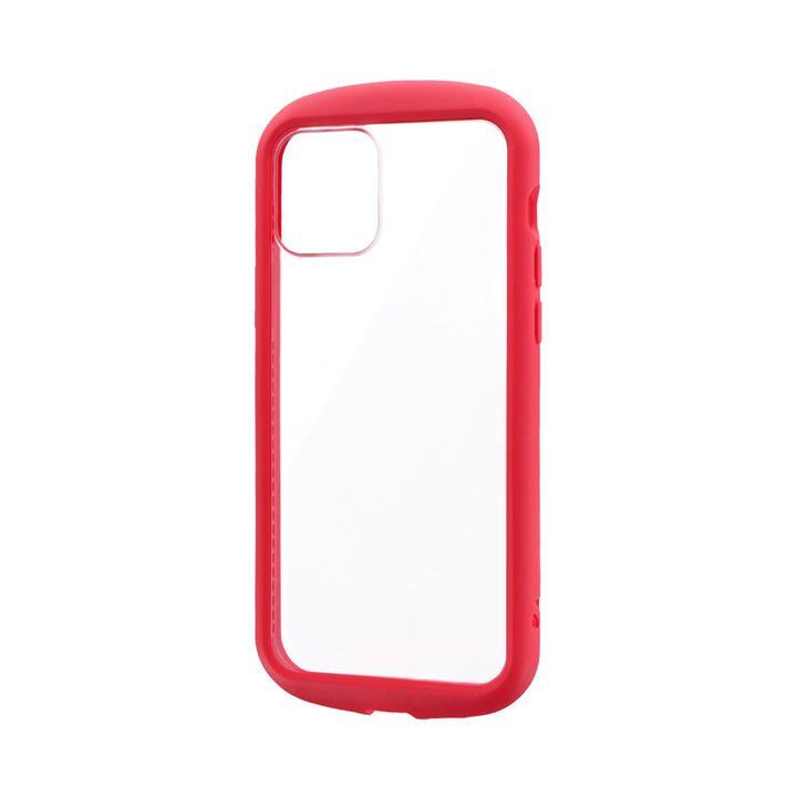 耐衝撃ハイブリッドケース「PALLET CLEAR Flat」 レッド iPhone 12/iPhone 12 Pro_0