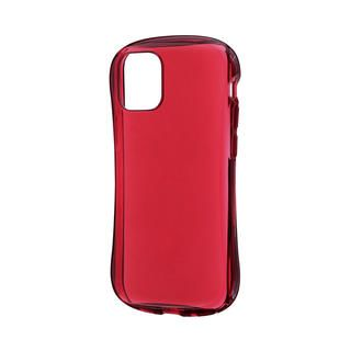 iPhone 12 mini (5.4インチ) ケース 耐衝撃ソフトケース「CLEAR Arch」 クリアレッド iPhone 12 mini