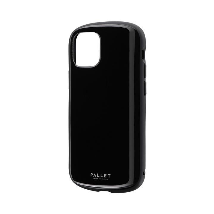 超軽量・極薄・耐衝撃ハイブリッドケース「PALLET AIR」 ブラック iPhone 12 mini_0