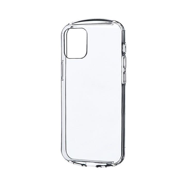 耐衝撃ソフトケース「CLEAR Round」 クリア iPhone 12 mini_0