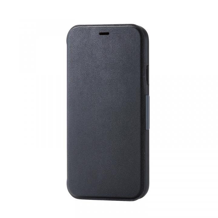iPhone XR ケース 手帳型ソフトケース ブラック iPhone XR_0