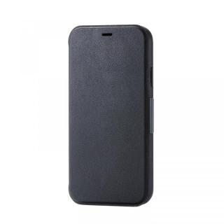iPhone XR ケース 手帳型ソフトケース ブラック iPhone XR