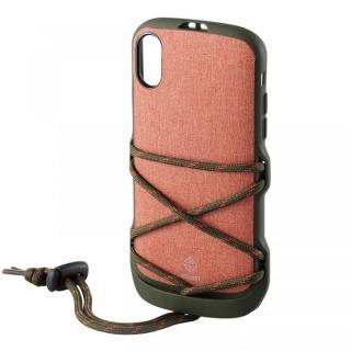 iPhone XR ケース ハイブリッドケース NESTOUT フェス&キャンプ オレンジ iPhone XR