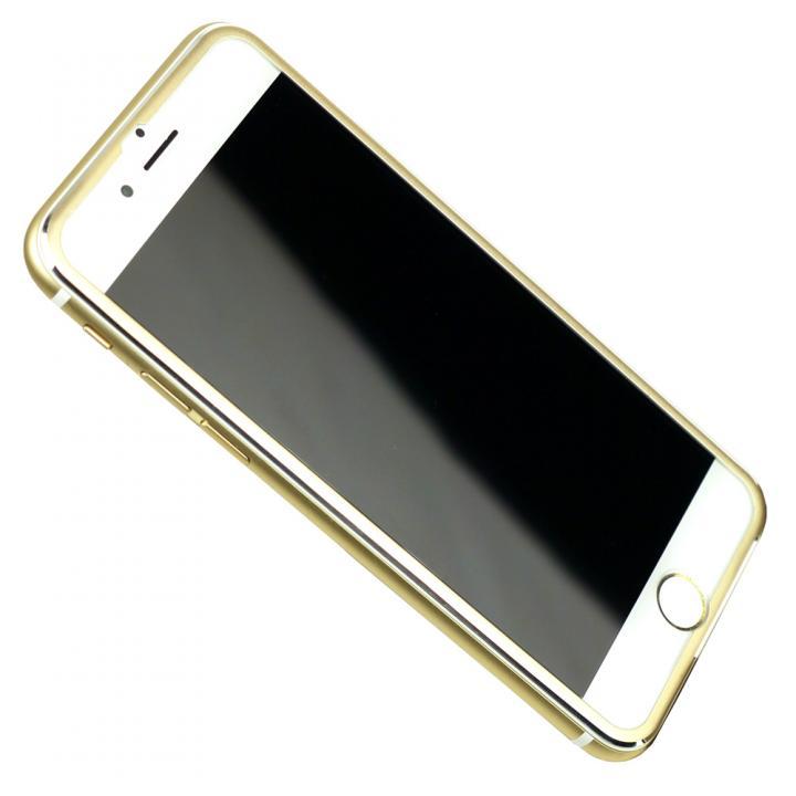 【iPhone6s/6フィルム】[0.33mm]強化ガラス Glass Film i6 アルミゴールド iPhone 6s/6_0