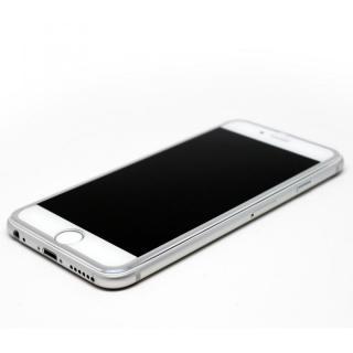 【iPhone6s/6フィルム】[0.33mm]強化ガラス Glass Film i6 アルミシルバー iPhone 6s/6_2