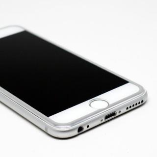 【iPhone6s/6フィルム】[0.33mm]強化ガラス Glass Film i6 アルミシルバー iPhone 6s/6_3